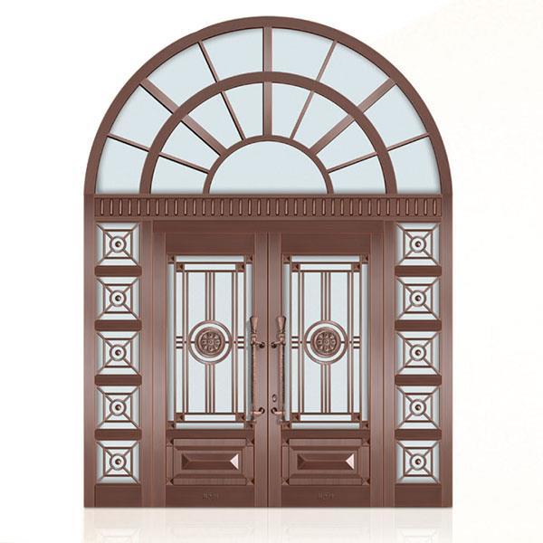 玻璃铜门贴膜后要注意哪些?